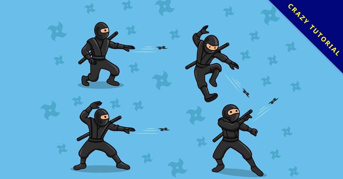 【忍者卡通圖】精選35款忍者卡通圖下載,忍者圖片免費推薦款