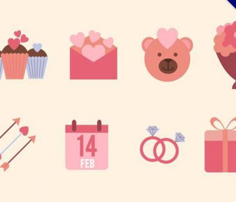 【情人節素材】精選35款情人節素材下載,情人節卡片製作免費推薦款