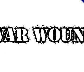 【戰爭字體】美式傷口戰爭字體下載,戰爭創傷字型