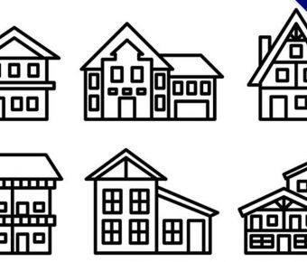 【房子插圖】精選35款房子插圖下載,房子插畫免費推薦款