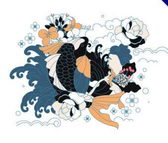 【日本素材】精選35款日本素材下載,日本圖案免費推薦款