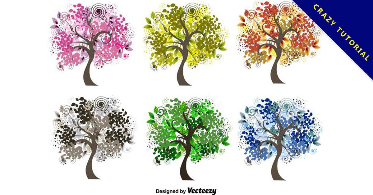 【樹卡通圖】精選35款樹卡通圖下載,樹圖畫免費推薦款