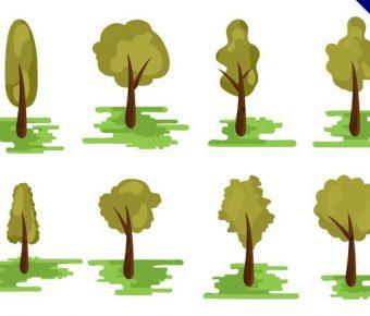 【樹圖案】精選47款樹圖案下載,樹木圖案免費推薦款