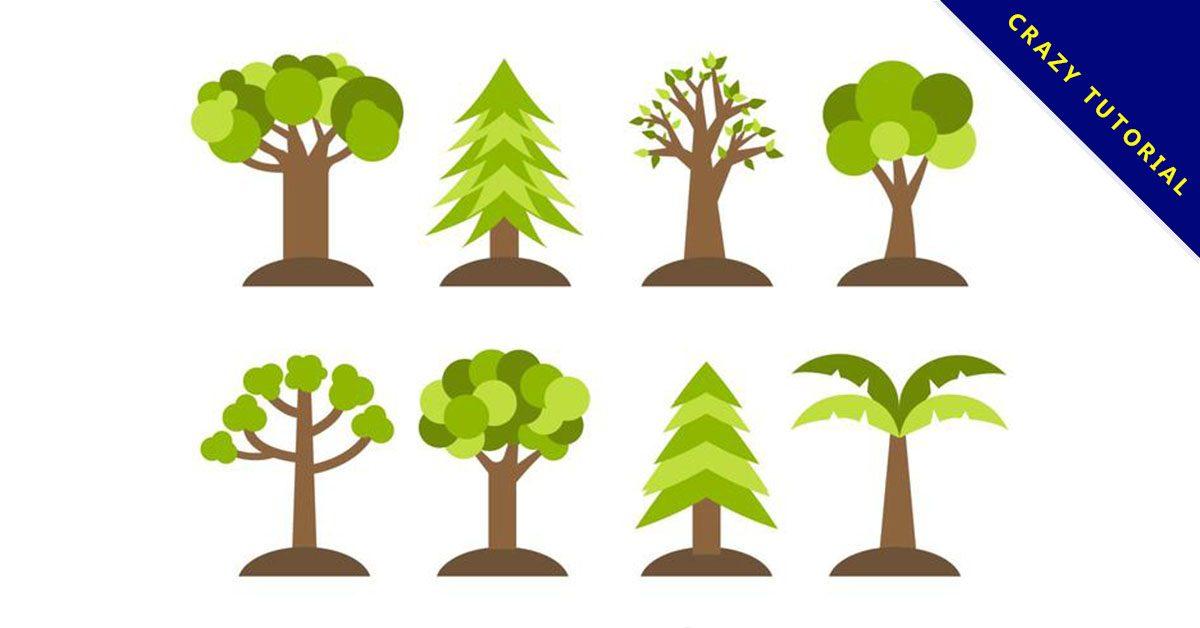 【樹插畫】精選40款樹插畫下載,樹插圖免費推薦款