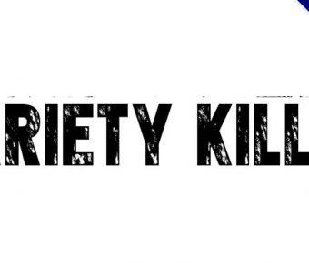 【殺手字體】Variety Killer 英文殺手字體下載,殺手風格推薦