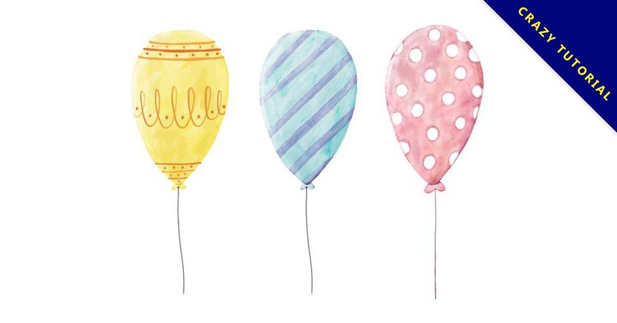 【氣球素材】精選34款氣球素材下載,氣球卡通免費推薦款