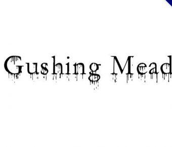 【滴血字體】Gushing Meadow 滴血字體下載,恐怖片可用