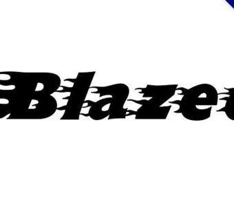 【燃燒字體】Blazed 火焰燃燒字體下載,燃燒出你的幻想