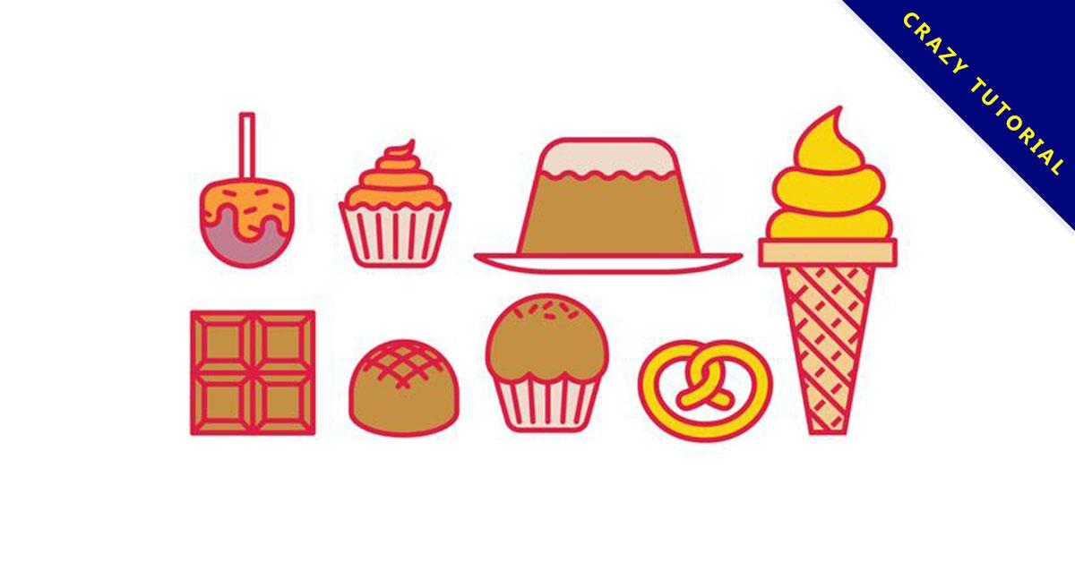 【甜點插畫】精選38款甜點插畫下載