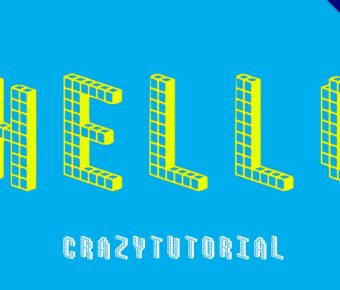 【積木字體】可愛英文積木字體下載,堆積出完美效果