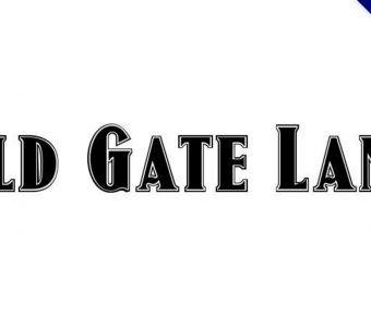 【復古字型】Old Gate Lane 英文復古字型下載