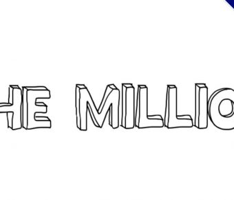【英文立體字型】Million Mile 手繪英文立體字型下載