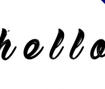 【英文筆刷字】Sketch 英文手繪字體下載,刷出你的不一樣