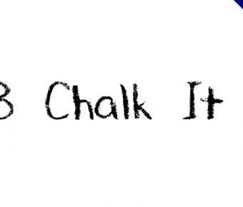 【黑板英文字】DJB Chalk 英文黑板字型下載,懷念的黑板字