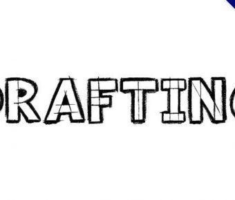 【草圖字體】drafting 手繪草圖字體下載,圖畫草圖可用
