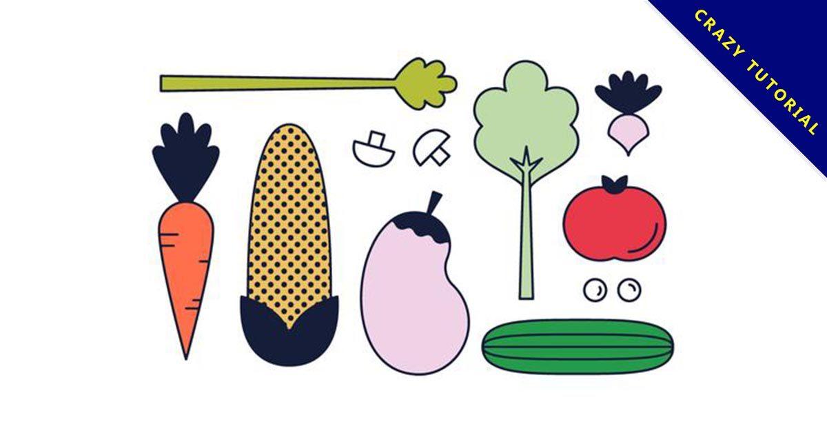 【蔬菜圖案】精選37款蔬菜圖案下載,蔬菜圖卡免費推薦款