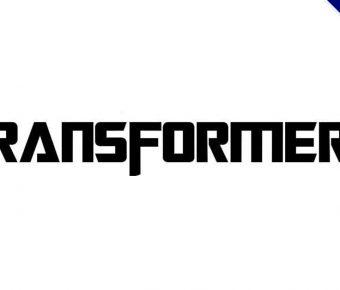 【變型金剛】Transformers 變型金剛標題字體下載