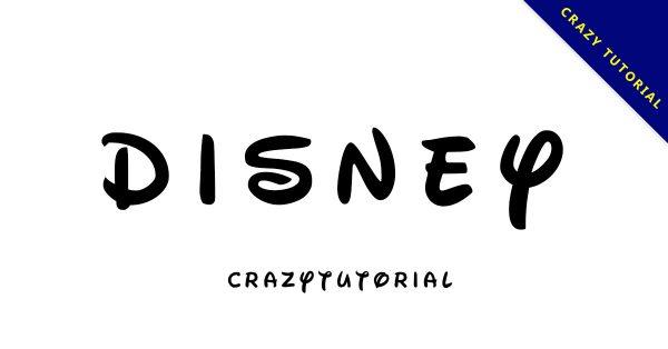 【迪士尼字體】Waltograph Disney 迪士尼字體下載