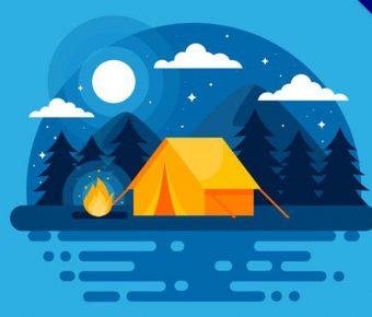 【露營圖片】精選38款露營圖片下載,露營圖案免費推薦款