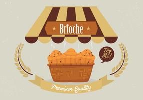 Brioche Background Vector