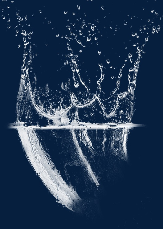 waterfall, Spray, Water Ripples PNG Image