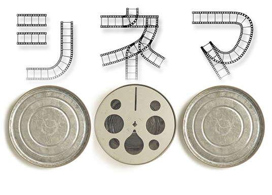 【电影字体】日本电影底片字体下载,有质感的底片字型