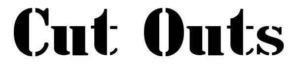 【报纸字体】美式报纸标题字体下载,切出一条质感线