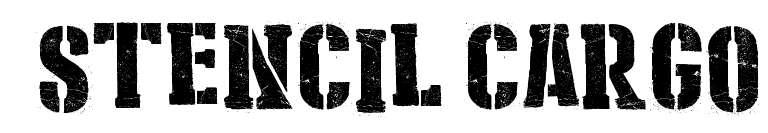 【斑驳字体】美式旧斑驳效果英文字体下载,老旧效果字体