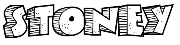 【手绘立体字】Stoney Billy 手绘立体字型下载