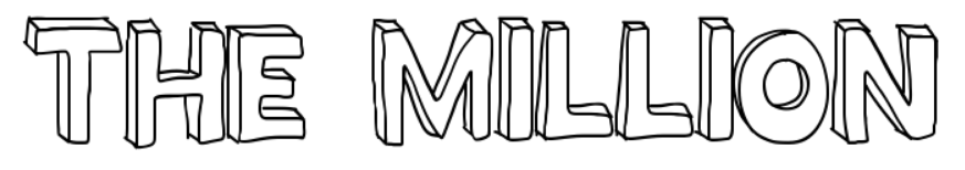 【英文立体字型】Million Mile 手绘英文立体字型下载