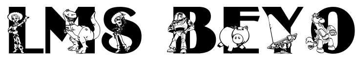 【玩具字体】Beyond Infinity 玩具总动员字型下载