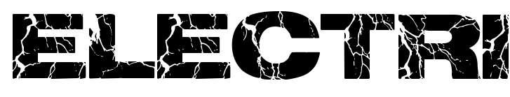 【裂痕字体】Electrical 英文裂痕字体下载,裂痕效果推荐