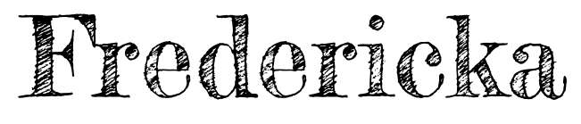 【草稿字体】 Fredericka 英文草稿字体下载,草稿风格推荐