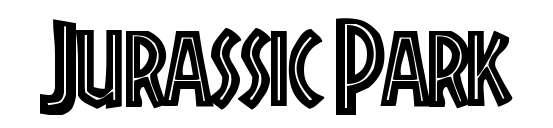 【侏罗纪字体】Jurassic Park 侏罗纪电影字体下载,侏罗纪标题首选