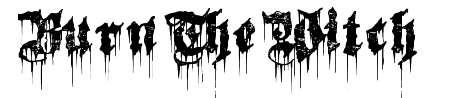 【女巫字体】 Burn The Witch 女巫字体下载,魔鬼风格字型