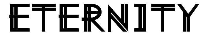 【永恒字体】Eternity Now 象征永恒字体下载,和平象征字体