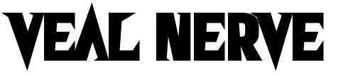 【尖角字体】Veal Nerve 英文尖角字体下载