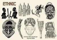 【刺青笔刷】40套专业版PHOTOSHOP 刺青笔刷下载