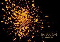 【爆炸笔刷】39套PHOTOSHOP 爆炸笔刷 / 爆炸特效 / 爆破效果