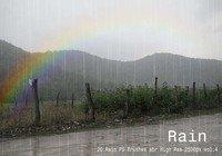 【下雨素材】 42套PHOTOSHOP下雨笔刷素材,雨滴笔刷首选