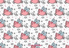 【小猪卡通图】34套 Illustrator 小猪q版图下载,小猪图案推荐款