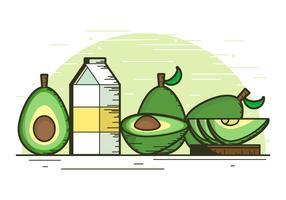 【酪梨图片】35套 Illustrator 酪梨图案下载,酪梨素材推荐款
