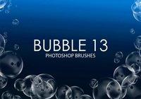 【泡泡笔刷】38套专业版PHOTOSHOP 泡泡笔刷免费下载