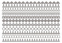【边框笔刷】43套PHOTOSHOP边框素材,边框设计专用款