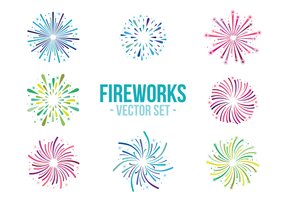 Fireworks White Background