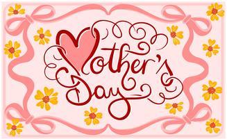【母亲节图案】135套 Illustrator 母亲节卡片图案免费下载