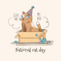 【猫向量图】84种Illustrator 猫咪向量图AI档下载