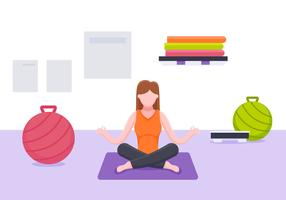 【瑜珈图片】70个 illustrator 瑜珈图片下载,瑜珈图案推荐款