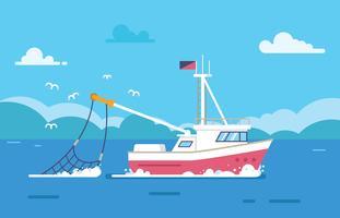 【船卡通图】35套 Illustrator 船素材下载,船图案推荐款