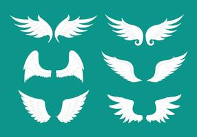 【翅膀符号】35套 Illustrator 翅膀图案下载,翅膀素材推荐款